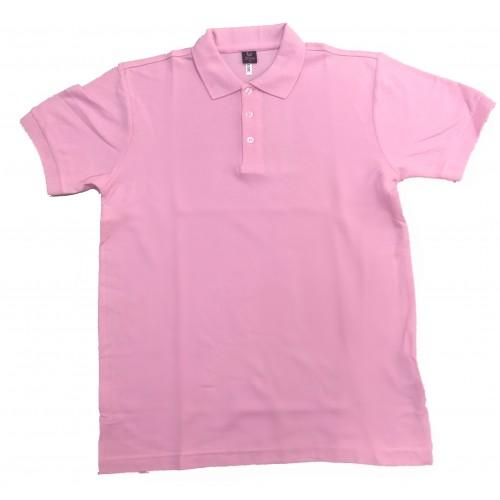 POLO衫(粉紅色)