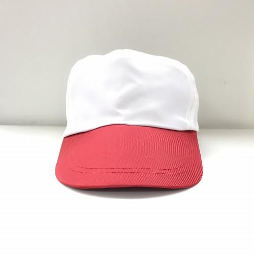 帽子(白頂紅眉)
