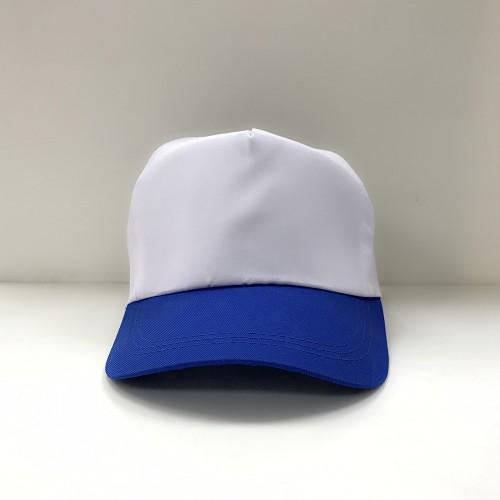 帽子(白頂藍眉)
