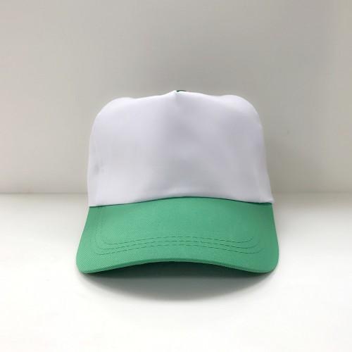 帽子(白頂綠眉)