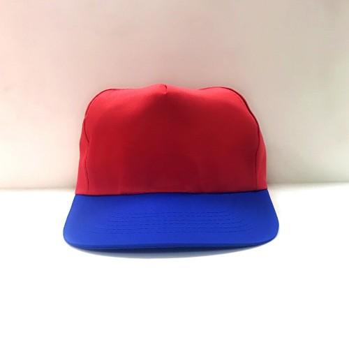 帽子(紅頂藍眉)